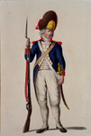 RI-1485-26 Militair in uniform.