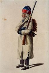 RI-1485-27 Militair in uniform.