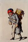RI-1485-28 Militair in uniform.