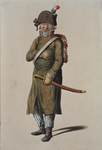 RI-1485-29 Militair in uniform.