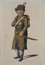 RI-1485-29 Militair in uniform.