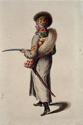 RI-1485-30 Militair in uniform.