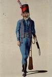 RI-1485-4 Militair in uniform.