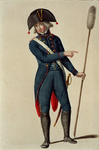 RI-1485-8 Militair in uniform.