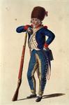 RI-1485-9 Militair in uniform.