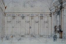 RI-1488-1 Salon in het logement het Zwijnshoofd op de Grotemarkt.