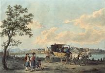 RI-1505 Postchais, voor de stad Lindau aan het Bodenmeer.