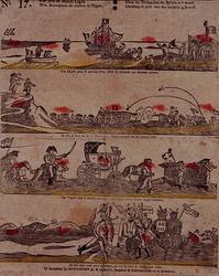 RI-1523 1815Spotprent op de val van Napoleon.