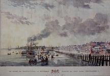 RI-1540-IV Het vertrek der Veldschutterij van Rotterdam, waaronder een groot aantal vrijwilligers, in het jaar ...