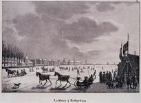 RI-1552 IJsvermaak op de Nieuwe Maas voor de Oudehaven.