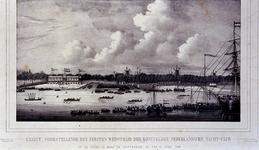 RI-1563 10 juni 1846Eerste roeiwedstrijd van de Koninklijke Nederlandse Yachtclub op de Maas.