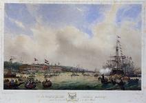 RI-1565-1 10 juni 1846De eerste wedstrijd , uitgeschreven door het Bestuur der Koninklijke Nederlandsche Yacht Club te ...