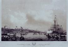 RI-1565-2 10 juni 1846De eerste wedstrijd , uitgeschreven door het Bestuur der Koninklijke Nederlandsche Yacht Club te ...