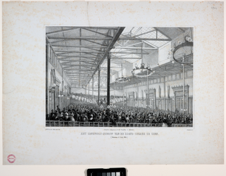 RI-1598-I 15 juli 1854Zangfeestgebouw.