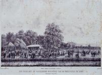 RI-1602 14 juli 1854Het Park (Westzeedijk) met de Officierensociëteit.