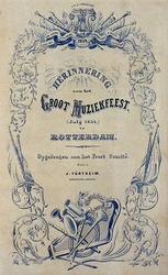 RI-1603 Juli 1854Herinnering aan het groot muziekfeest.