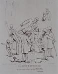 RI-1617 1860Spotprent op het plaatsen van het standbeeld van Tollens, n.a.v. discussies in de Gemeenteraad.