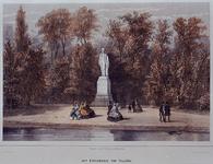 RI-1624 Het standbeeld van H. Tollens in het Park.