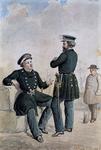 RI-1628-1 Agenten van politie te water.