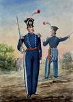 RI-1635-6 Uniformen van de schutterij.