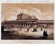 RI-1644-3 Ontwerp van de staatsspoorlijn bij het station Beurs.