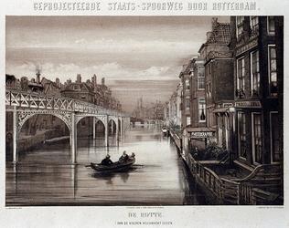 RI-1644-6 Ontwerp van de staatsspoorlijn langs de Binnenrotte.
