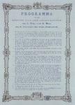 RI-1695-1 21 mei 1874Programma van het leggen van de gedenksteen van de Brug over de Maas, aan de kant van Feijenoord.