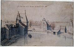 RI-197 De Kruijt tooren aan de Oost Poort tot Rotterdam 2-3-1674
