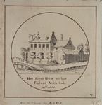 RI-210 Het éérste huis op het Eiland Vishoeck. Ao 1660.