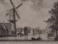 RI-215 Gezicht langs de Vest bij de Delftse Poort.