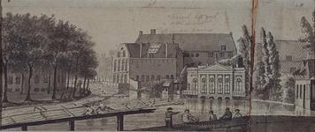 RI-236 Panden aan de Boshoek, Schiedamse Vest, Schiedamsesingel, van de Schiedamsedijk gezien.