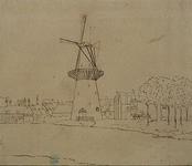 RI-242 Schiedamsesingel.Molen de Arend, de Baan.