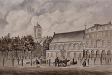 RI-256 Nieuwemarkt met de Prinsenkerk en rechts de Boterhal.