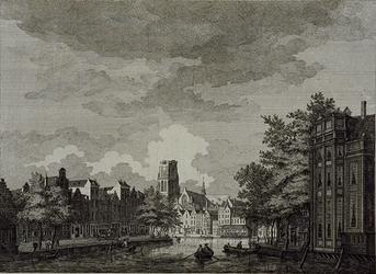 RI-314 Kolk.Links Westnieuwland, rechts Open Rijstuin en op de achtergrond de Grote Kerk en de Korenbeurs.