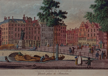 RI-331 De Grotemarkt. Ao. 1790.