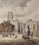 RI-335 Monument van Erasmus op de Grotemarkt.