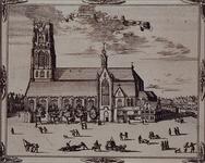 RI-34-2 Gezicht op de Sint-Laurenskerk of Grote Kerk aan het Grotekerkplein, rechts de Binnenrotte.