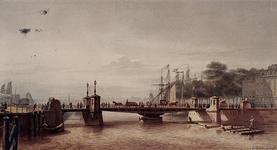 RI-361 Gezicht op de Koningsbrug over de Oudehaven, en het Bolwerk.
