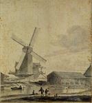 RI-433 Houtzaagmolen aan de Rechter Rottekade (waarschijnlijk de Arend).