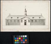 RI-463 Zuidzijde van het pesthuis, op het eiland Feijenoord, gebouwd in 1716.