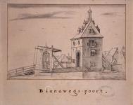 RI-479 Gezicht op de Binnenwegse Poort aan de Schiedamse Vest.