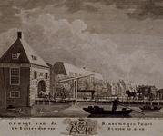 RI-482 Gezicht op de Binnewegse Poort in Rotterdam.