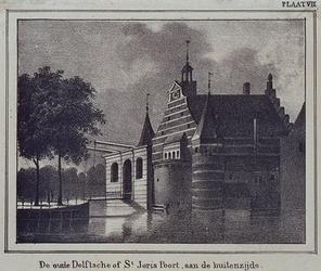 RI-491 De Delftse Poort (vóór 1766), aan de Coolsingel.