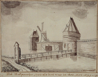 RI-531 Het Hofpoortje in het jaar 1599.