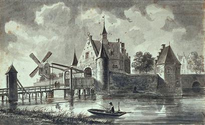 RI-542 De Oostpoort omstreeks 1525.