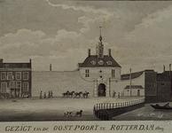 RI-556 Het Oostplein met de Oostpoort.