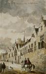 RI-664 Het klooster St. Aechte in de Westewagenstraat anno 1560.