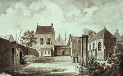 RI-674 Onze Lieve Vrouwe Klooster aan het Westnieuwland omstreeks 1563.