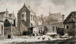 RI-675 Onze Lieve Vrouweklooster aan het Westnieuwland omstreeks 1563.
