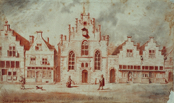 RI-690 De St. Jacobs, St. Seveers of Weeverskapel aan de Oppert omstreeks 1600.